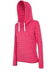 Sweter [T4L16-BLD002] Bluza damska BLD002 - róż malinowy ciemny - - 4f.com.pl 4F